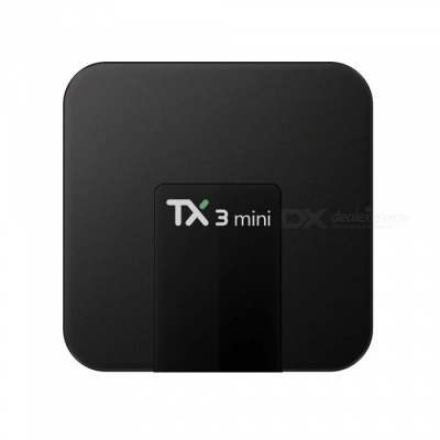 TX3 Mini Android 7.1.2 Smart TV Box Player with 1GB RAM, 16GB ROM - EU Plug