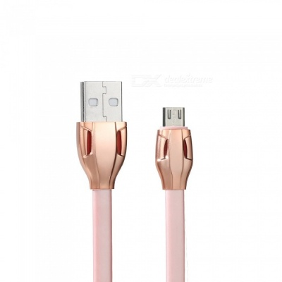 Universal 2.1A Quick Charge Micro USB Cable - Rose Gold (100cm)