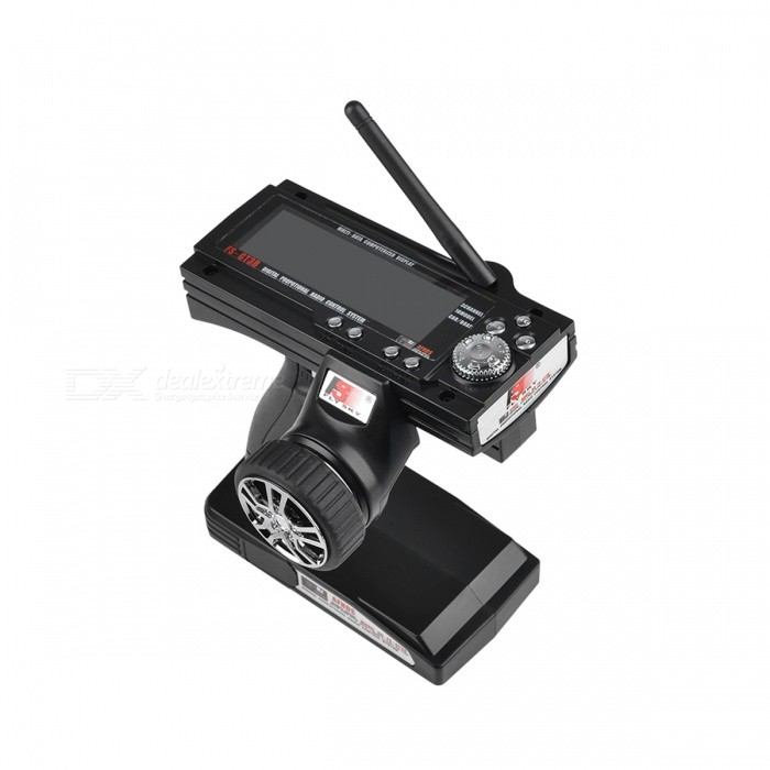 "3.9"" LCD 2.4Ghz 3CH Transmitter & Receiver for R/C Car and Boat (8*AA)"