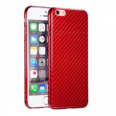 Naxtop PC Hard Protective Back Case for IPHONE 6, 6S - Red
