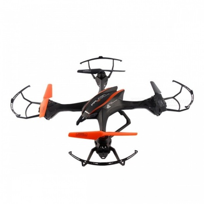 UDIR/C Large-Size Four-Axis 4CH 2.4GHz RC Drone Quadcopter - Black