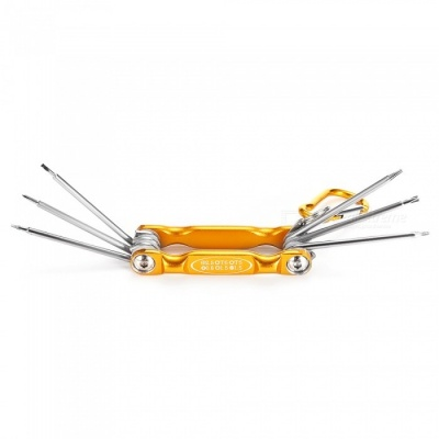 AS-60 Portable Repair Disassembling Tool Kit Screwdriver Set with Clip for IPHONE / Samsung / Xiaomi - Yellow
