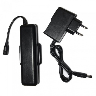 SPO Rechargeable 4 x 18650 Spare Battery Pack for Outdoor Cycling - Black