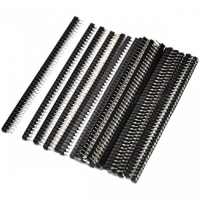 ZHAOYAO 40 Pins Female End Straight Mounting Angle IC Socket Connectors (20 PCS)