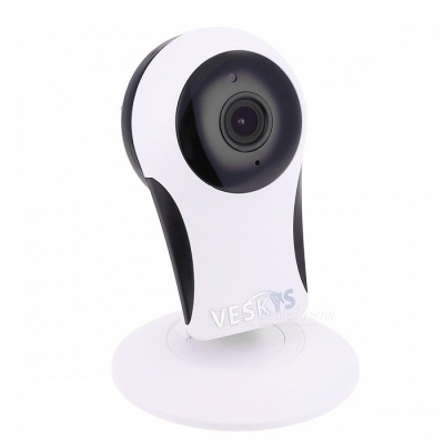 VESKYS 960P 1.3M HD Wi-Fi Security Surveillance IP Camera with Cloud Storage/Two Way Audio/Remote Monitor - White (US Plug)