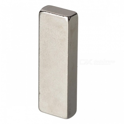 30mm*10mm*5mm Rectangle NdFeB Neodymium Magnet for DIY - Silver