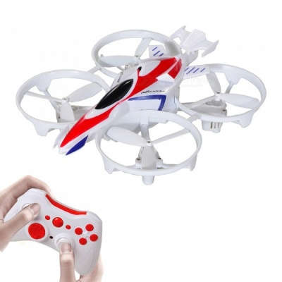 RC125WH Mini 4 Channel 6-Axis Wi-Fi FPV RC Helicopter Quadcopter Drone with Camera / Headless Mode / Altitude Hold - White