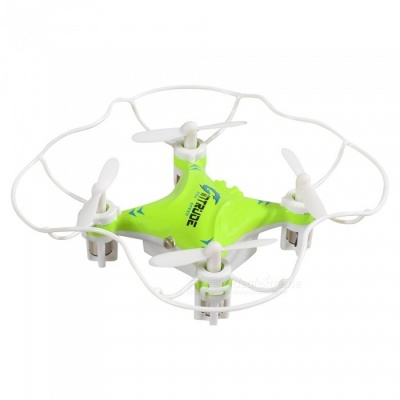 M992 Mini 4-CH 2.4GHz R/C Quadcopter with 6-Axis Gyro, LED Light - Green + White