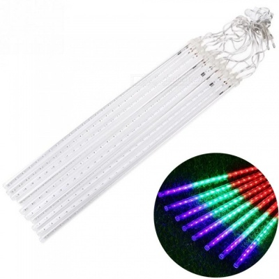 YouOKLight 50cm Meteor Shower LED String Light for Outdoor Christmas Tree Decoration (10 PCS / EU Plug)