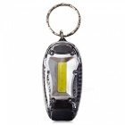 CTSmart Multi-Function Outdoor Riding Night Running Warning Light Keychain - White