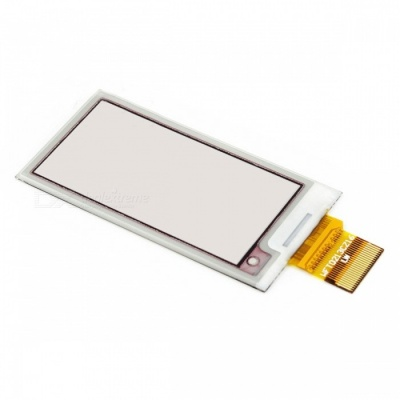 Waveshare 212x104 2.13 Inches Three-Color E-Ink Raw Display with SPI Interface, Without PCB