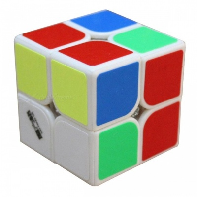 MoFangGe Knight Speed Cube 2x2 Smooth Magic Cube Puzzles Toy - 50mm