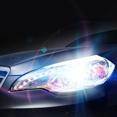 Auto Car Styling Shiny Chameleon Headlights Taillights Translucent Film Change Color Film Sticker - 120 x 30CM