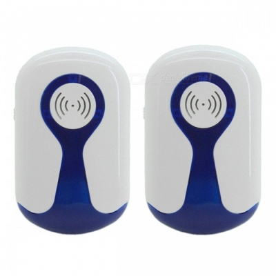 799 Electronic Ultrasonic Pest Repeller, Home Anti Mosquito Repellent Killer Rodent Bug Reject (UK Plug)