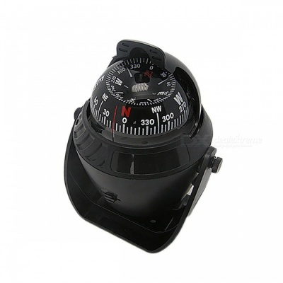 Outdoor Electronic Vehicle Car Navigation Sea Marine Boat Ship Digital Compass New ABS LED Light for Camping Hiking