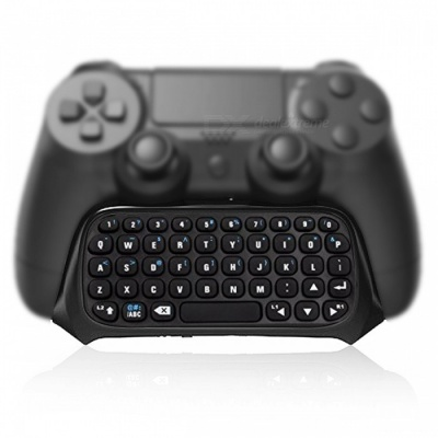 Kitbon Mini Bluetooth Wireless Keyboard Keypad Chatpad for PlayStation 4 PS4 Slim PS4 Pro Controller