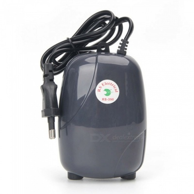 ZHAOYAO 5W Super Silent High Energy Efficient Aquarium Oxygen Fish Air Pump Tank (EU Plug)