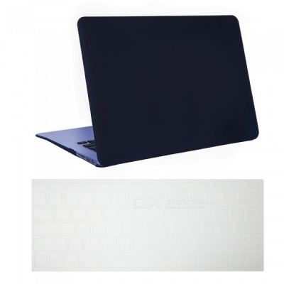 "Dayspirit Ultra Slim Matte Hard Case + Keyboard Cover for MacBook Air 13.3"" A1369/A1466 - Black"