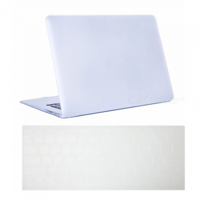 "Dayspirit Ultra Slim Matte Hard Case + Keyboard Cover for MacBook Air 13.3"" A1369/A1466 - White"