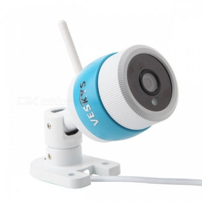 VESKYS 1080P 2.0MP Waterproof Wireless Outdoor Security Bullet IP Camera (US Plug)