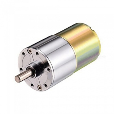 ZHAOYAO 37RG DC 12V 5RPM Micro Gear Box Motor, Speed Reduction Electric Gearbox with Centric Output Shaft