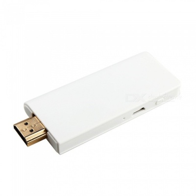 Mini Portable Super Slim Wecast Wireless Wi-Fi Receiver Display Dongle - White