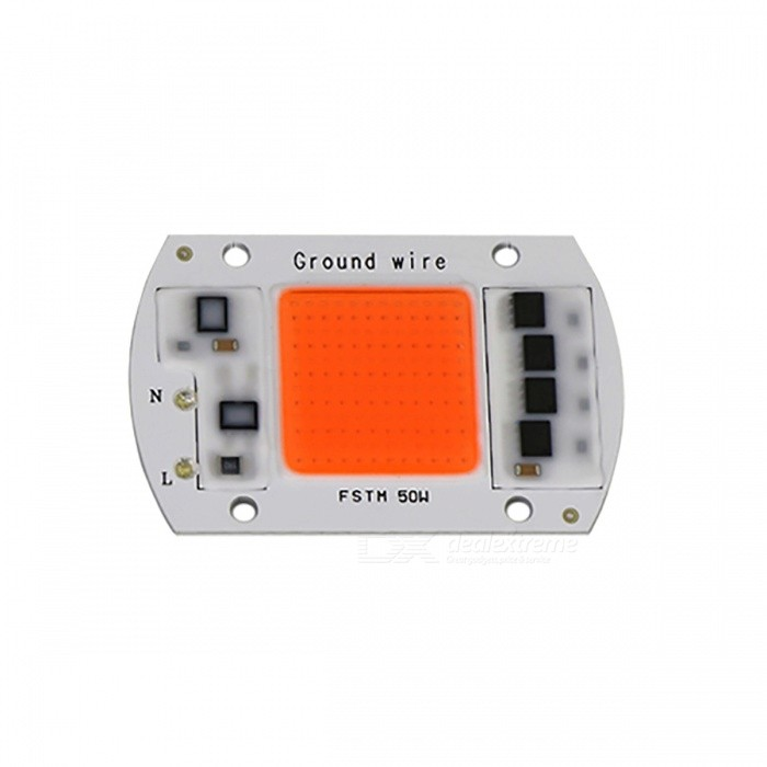 Portable 50W AC220V LED Grow Chip with Full Spectrum 380nm-840nm for Indoor LED Grow Light