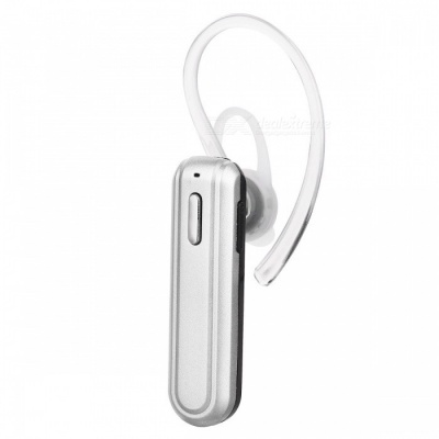 X22 Mini Portable Bluetooth Wireless Headset Earpiece with Mic - Silver