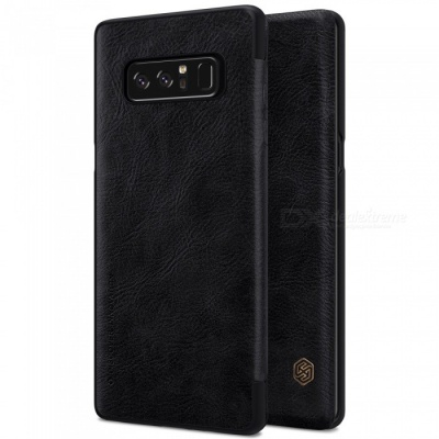 Nillkin Protective PU Leather Case for Samsung Galaxy Note 8 - Black