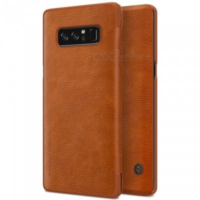 Nillkin Protective PU Leather Case for Samsung Galaxy Note 8 - Brown