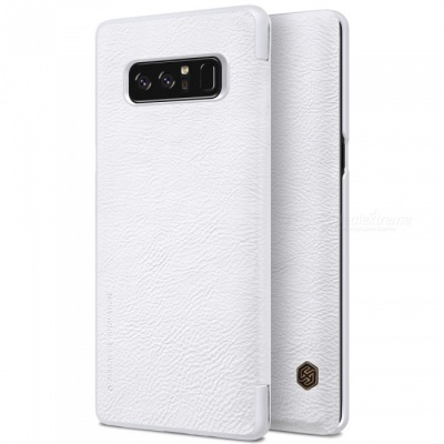 Nillkin Protective PU Leather Case for Samsung Galaxy Note 8 - White
