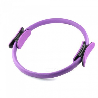 P-TOP Yoga Pilates Ring Magic Circle, Muscles Body Exercise Yoga Fitness Tool - Purple