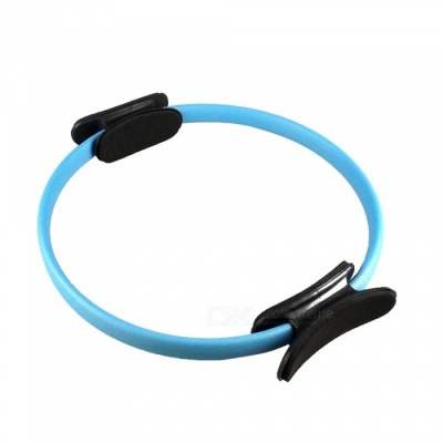 P-TOP Yoga Pilates Ring Magic Circle, Muscles Body Exercise Yoga Fitness Tool - Blue