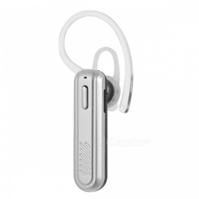 X21 Mini Portable Bluetooth Wireless Headset Earpiece with Mic - Silver