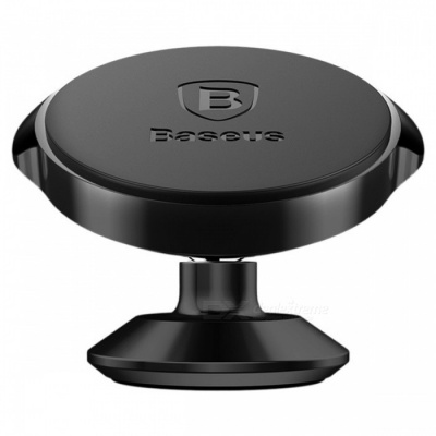 Baseus 360 Degree Universal Magnetic Vertical Car Phone Holder - Black