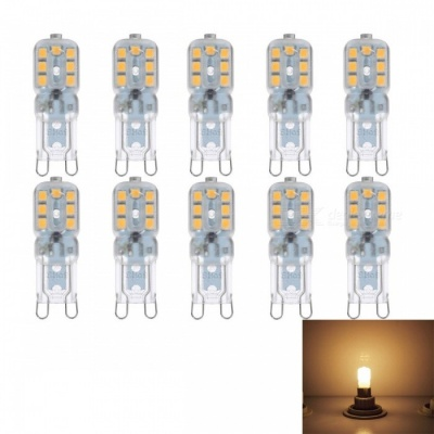 JRLED G9 3W 14-SMD 2835 LED Warm White Dimmable Bulb Lamp (220V / 10 PCS)