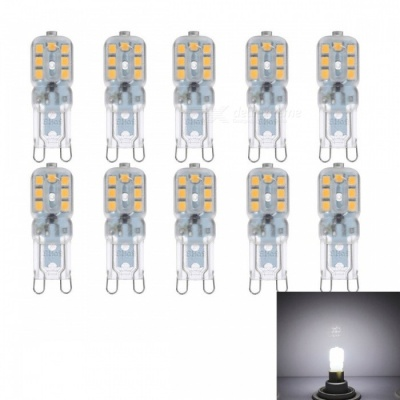 JRLED G9 3W 14-SMD 2835 LED Cold White Dimmable Bulb Lamp (220V / 10 PCS)