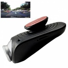 Funrover Portable Waterproof HD 1080P USB Car DVR Recorder Camera for Android System - Black
