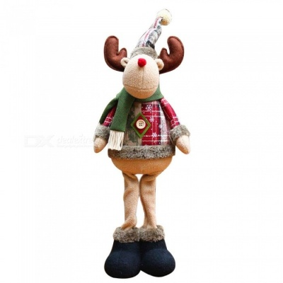 P-TOP Elk Doll for Christmas Xmas Tree Decoration, Best Gift