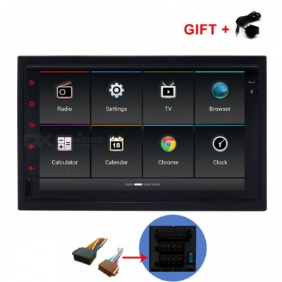 "Funrover 7"" 1024*600 Android 6.0 OEM Car DVD Player w/ GPS Auto Radio RDS for Old VW Golf Polo Jetta Skoda Seat Cars"