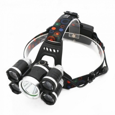ZHAOYAO Ultrabright LED Headlight Headlamp for Fishing, Camping, Hunting, Riding