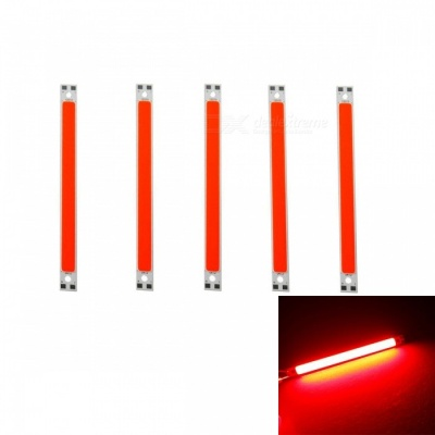 JRLED 120 x 10mm 10W 48-COB Red LED Module (DC 12V / 5 PCS)