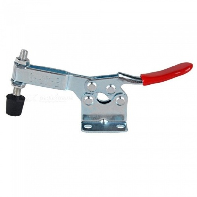 ZHAOYAO GH-201-B Horizontal Quick Release Toggle Clamp, Holding 90Kg/198Lbs for Machine