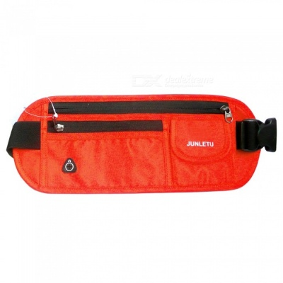 Outdoor Sports Running Portable Nylon Waist Bag for Cell Phone, Wallet, Cards and Other Small Items - Orange