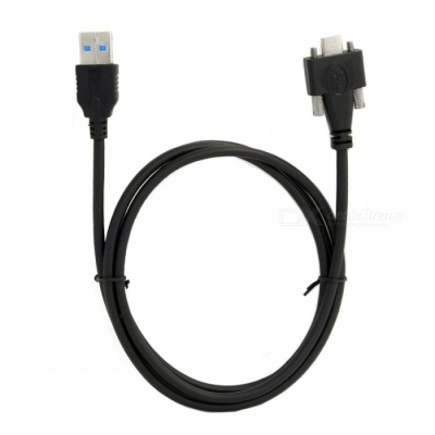 CY UC-048-1.2M USB 3.1 Type-C Cable Dual Screw Locking
