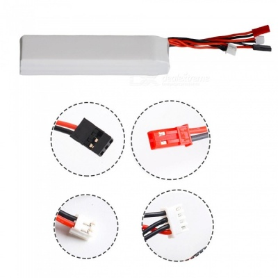 11.1V 2200mAh 3S AT9 AT10 AT90S Devo7 RC Li-polymer Battery
