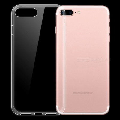 Dayspirit Ultra-Thin Protective TPU Back Case for IPHONE 7 Plus IPHONE 8 Plus - Transparent