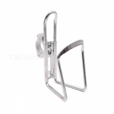 CARKING Aluminum Alloy Bicycle Water Bottle Rack Holder, Mountain Bike Water Cup Can Cage Bracket - Silver