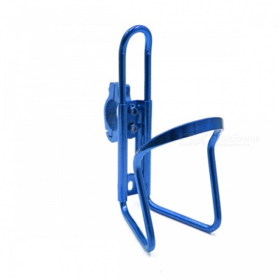 CARKING Aluminum Alloy Bicycle Water Bottle Rack Holder, Mountain Bike Water Cup Can Cage Bracket - Blue
