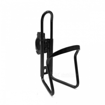 CARKING Aluminum Alloy Bicycle Water Bottle Rack Holder, Mountain Bike Water Cup Can Cage Bracket - Black